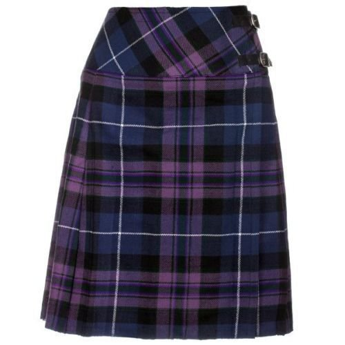 New 30 Size Ladies Pride of Scottland Billie Kilt Knee Length Skirt in Pride of Scotland Tartan