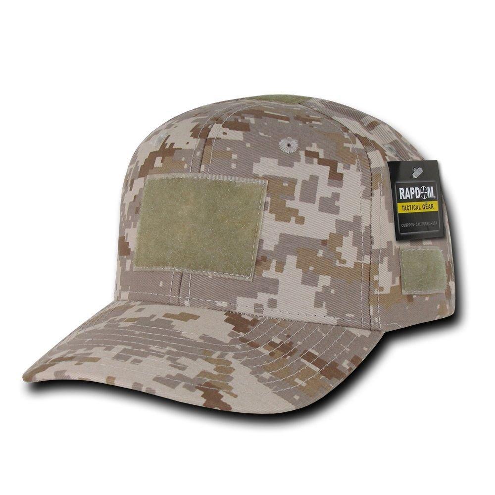 Desert Digital Camo Tactical Operator Contractor Military Patch Cap Hat