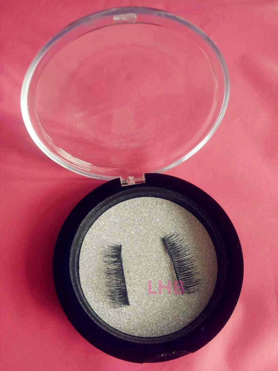 Magnetic lashes Natural Soft Makeup August new style(double magnet longer)