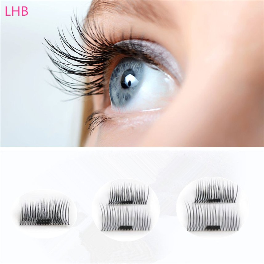 New Charming style Magnetic False Eyelashes Private Label Without Glue