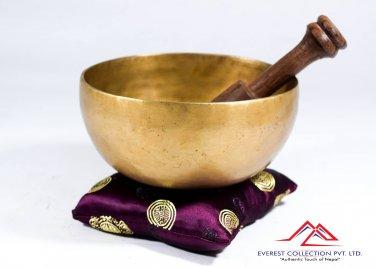 """Singing bowl-5"""" handmade singing bowl from Nepal,yoga bowl,tibetan singing bowl"""