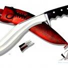 "11""Blade Afghan gripper guard kukri,khukuri,handmade knife,khukuri hosue,knife from Nepal,kukri"