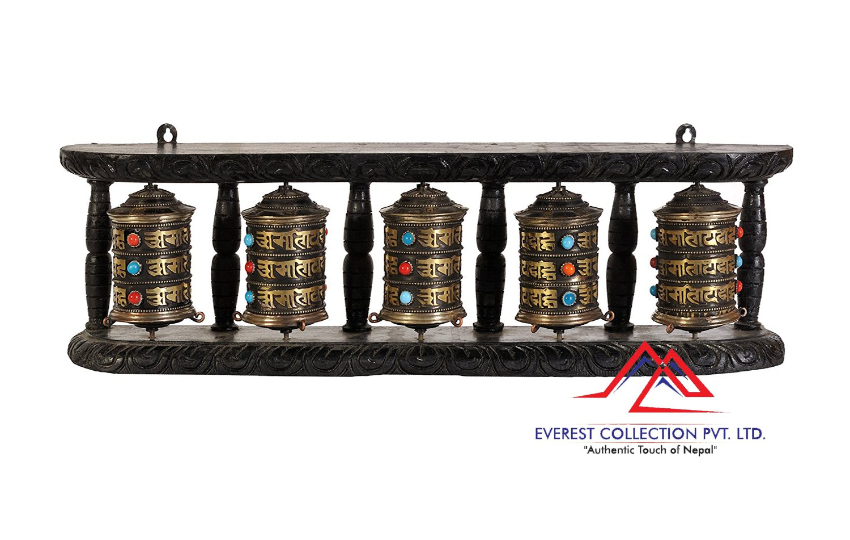 5 in 1 Prayer wheels-wall hanging prayer wheel,Buddhist prayer wheel.dharma wheels