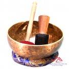 "9""Heart Chakra -F Note singing bowl,meditation bowl,singing bowl from Nepal,yoga bowl"
