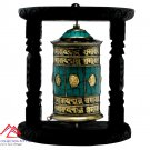 8 inches wall hanging/table top prayer wheel-Meditation wheel-buddha chakra-made in Nepal