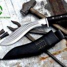 "12""Blade 5 chirra kukri,khukuri,gurkha,military knife,handmade kukri,knives"