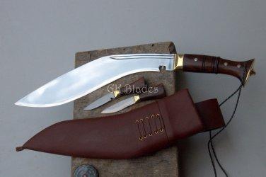 """12""""Blade full tang Gorkhali sainik khukuri-kukri-gurkha knife,knives,kukri house"""