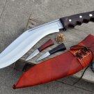 "11""Blade Gripper Afghan kukri-khukuri,military knife,knives,gurkha knives,Nepal"