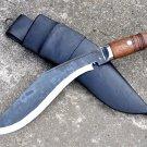 "11""Blade Full tang Butcher kukri-khukuri-gurkha knife,working khukuri,knives,GK"