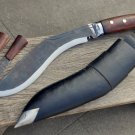 "10""Blade full tang Sirupate kukri-Real working khukuri-Gurkha knife,machete"
