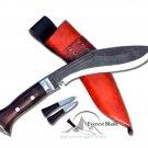 """8""""Blade real working khukuri-kukri-gurkha knife,kukri machete,knives,Nepal"""