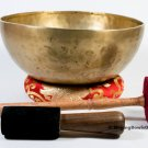 Singing bowl-11 inches Handmade singing bowl-made of 7 metals in Nepal-Healing