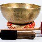 Singing bowl-11 inches Handmade singing bowl-made of 7 metals in Nepal-Healing