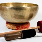 "12""Master Healing singing bowl from Nepal-7 metal mix-Handmade in Nepal"