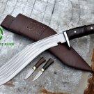 """14""""Blade 5 chirra kukri,khukuri,gurkha knife,kukri machete,khukuri from Nepal"""