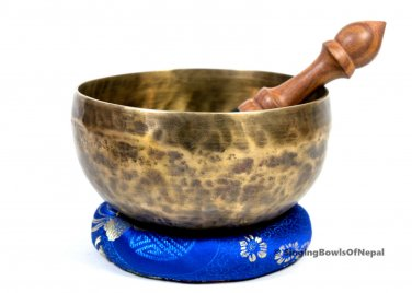 """6"""" Diameter Handmade signing bowl-Tibetan singing bowl ,meditation bowl,Nepal"""