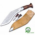 "14""Blade 5 chirra kukri-khukuri,gurkha knife,knives,kukri machete,military knife"