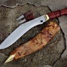 "10""Blade Traditional Chainpure kukri-khukuri,Gurkha knives,knife,kukri machete"