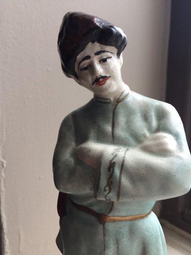 Antique Armenian Faience figurine of Armenian Highlander