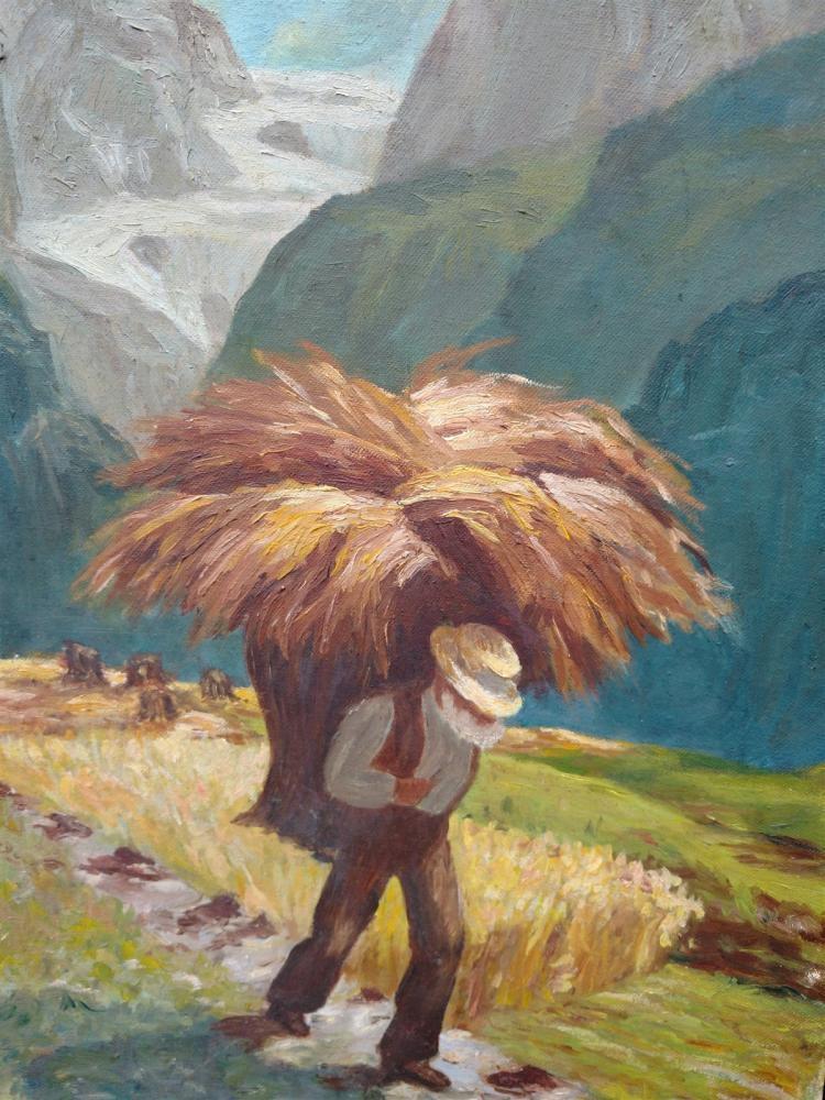 Armenian painting of man ( Armenian-American)