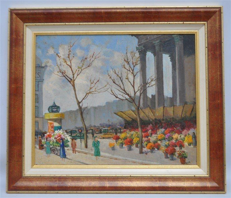SERGE SEDRAC (1878-1974) Antique Armenian-french painting
