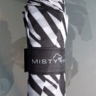 Misty Harbor Folding Umbrella - Zebra