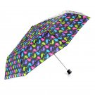Misty Harbor Folding Umbrella - Love Birds