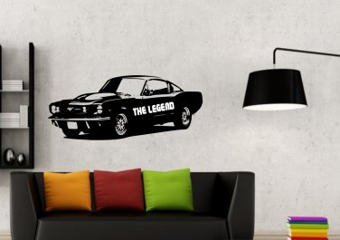 Ford Mustang Large 23x35(inch)