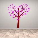 Tree With Leaf or Flower Love Heart Medium