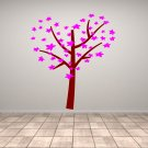 Tree With Leaf or Flower Love Heart Large