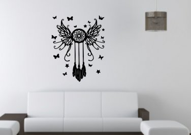 Dream catcher with butterflies Large 15x25(inch)