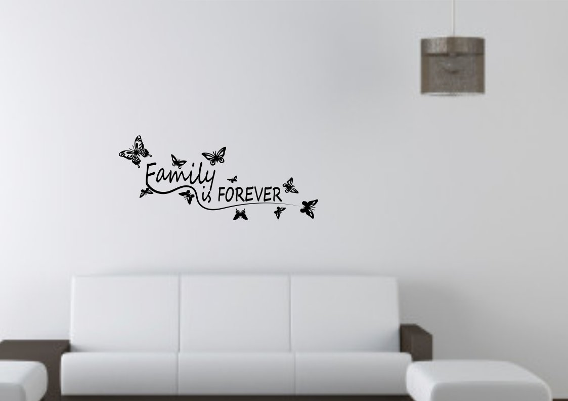 Family is forever  Large 40x25(inch)