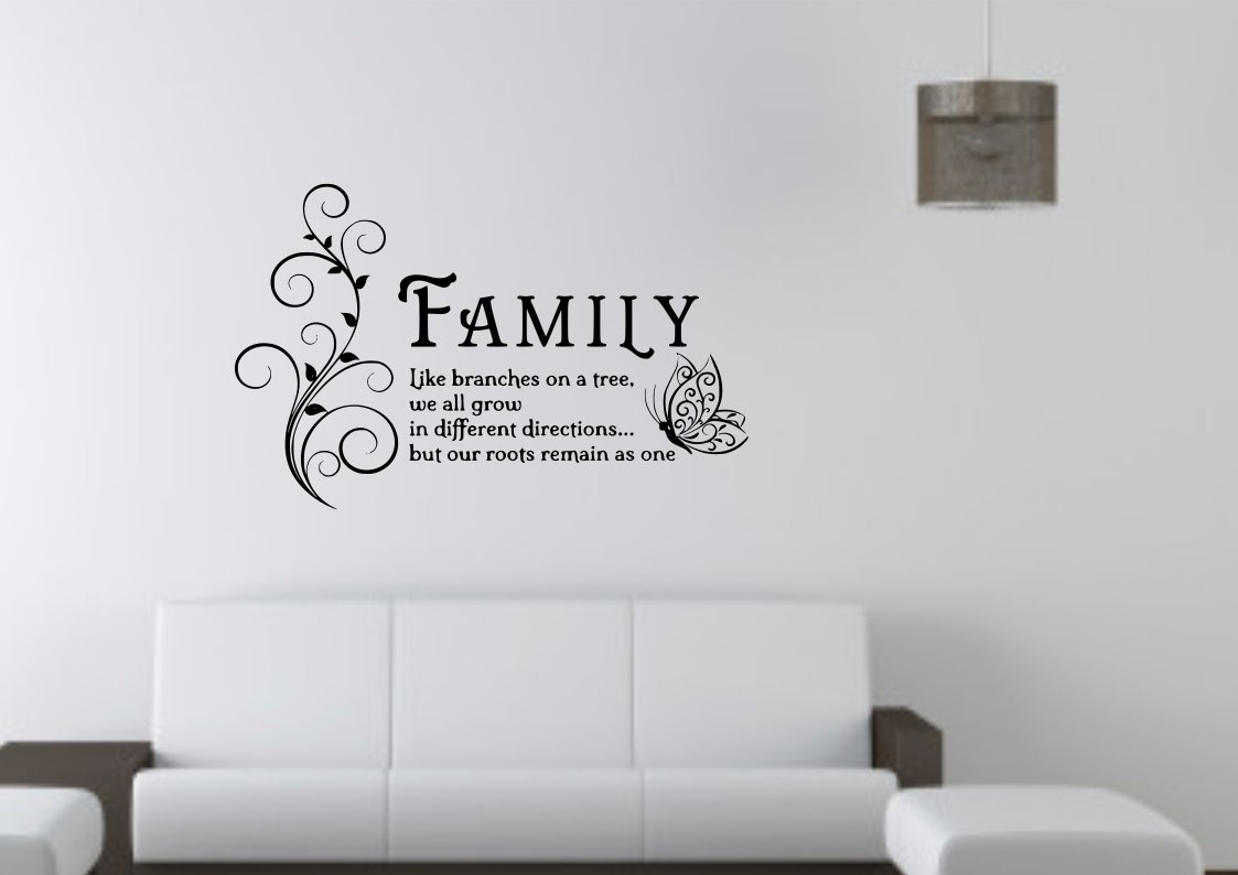 Family is like branches on a tree Large 23x20(inch)