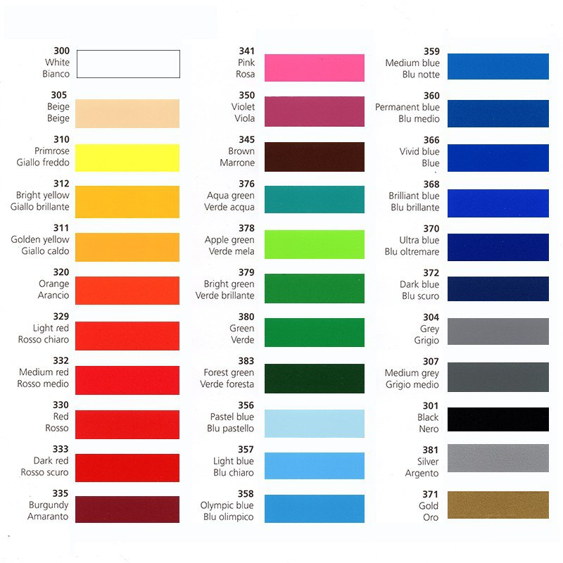 Matte Vinyl Any Colour 5 metre Roll by 610mm width