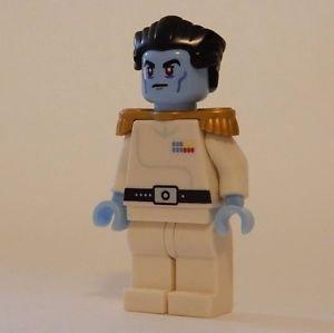 **NEW** LEGO Custom Printed GRAND ADMIRAL THRAWN Star Wars Minifigure