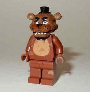 **NEW** LEGO Custom Printed FNAF - FREDDY Five Nights At Freddy's Minifigure