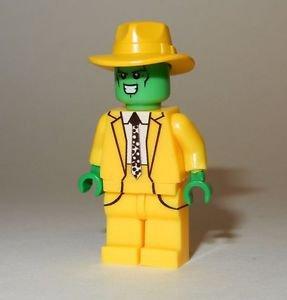 **NEW** LEGO Custom Printed THE MASK Jim Carrey Halloween Movie Minifigure