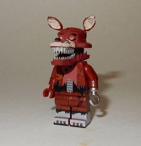 **NEW** LEGO Custom Printed FNAF - NIGHTMARE FOXY Freddy's Minifigure