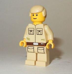 **NEW** LEGO Custom Printed CLOUD CITY LUKE SKYWALKER Star Wars Minifigure