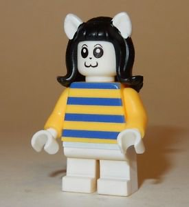 x1 **NEW** LEGO Custom Printed UNDERTALE TEMMIE Video Game Minifigure