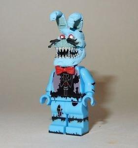 **NEW** LEGO Custom Printed FNAF - NIGHTMARE TOY BONNIE Minifigure