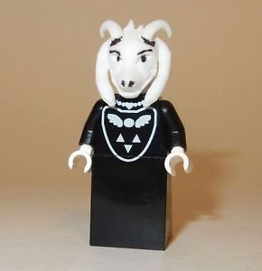 x1 **NEW** LEGO Custom Printed UNDERTALE ASRIEL DREEMURR Video Game Minifigure