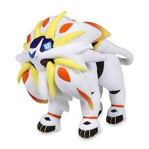 "Pokemon Center OFFICIAL Original SOLGALEO Poké Plush Doll (Large Size) - 10"""