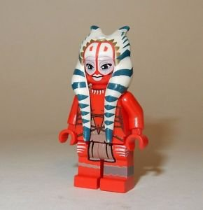 **NEW** LEGO Custom Printed SHAAK TI Star Wars Female Jedi Master Minifigure
