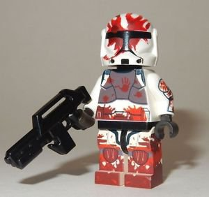**NEW** LEGO Custom Printed COMMANDO SEV Star Wars Clone Trooper Minifigure