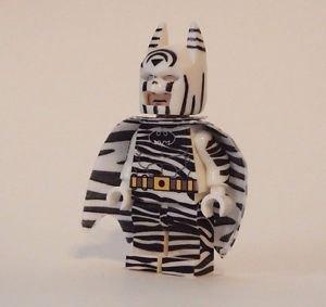 **NEW** LEGO Custom Printed ZEBRA BATMAN Super Hero Minifigure