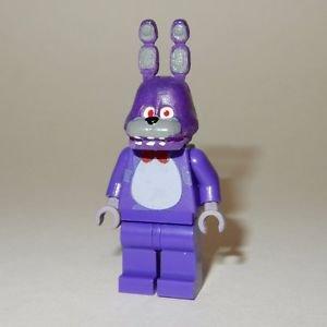 **NEW** LEGO Custom Printed FNAF - BONNIE Five Nights At Freddy's Minifigure