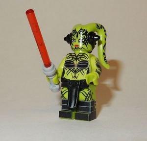 **NEW** LEGO Custom Printed DARTH TALON Green Twi'lek Star Wars Minifigure