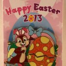Disneyland Happy Easter 2013 Pin Chip and Dale Limited Edition 4000