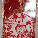 Walt Disney Imagineering WDI Shanghai Disneyland Large Circular Pin Mickey Mouse Limited Edition 300